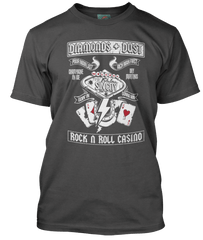AC/DC inspired SIN CITY Rock N Roll Casino T-Shirt