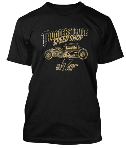 AC/DC inspired THUNDERSTRUCK Speed Shop