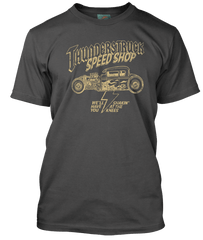 AC/DC inspired THUNDERSTRUCK Speed Shop T-Shirt