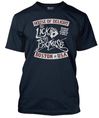 AEROSMITH inspired LICK AND A PROMISE T-Shirt