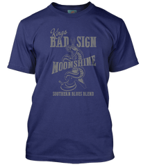 ALBERT KING inspired Born Under A BAD SIGN Moonshine T-Shirt