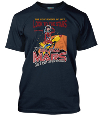 ASH inspired GIRL FROM MARS T-Shirt