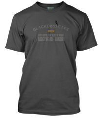 BEATLES inspired BLACKBIRD Cafe T-Shirt