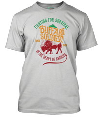 BOB MARLEY inspired BUFFALO SOLDIER T-Shirt