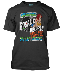 BOB SEGER / THIN LIZZY inspired ROSALIE records T-Shirt