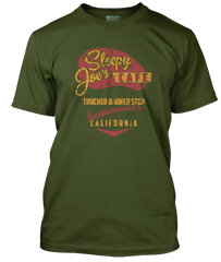 BRUCE SPRINGSTEEN inspired SLEEPY JOES CAFE T-Shirt