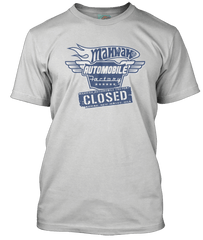 BRUCE SPRINGSTEEN inspired Johnny 99 Mahwah Auto Plant T-Shirt