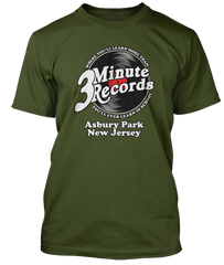 BRUCE SPRINGSTEEN inspired No Surrender 3 Minute Records T-Shirt