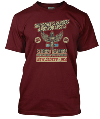 BRUCE SPRINGSTEEN inspired RACING IN THE STREET T-Shirt