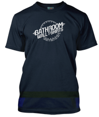 BATHROOMWALL logo T-Shirt