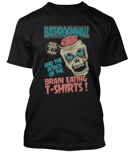 BATHROOMWALL Brain Eating Zombies
