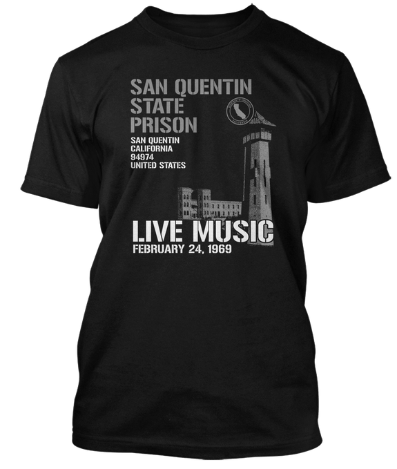 JOHNNY CASH inspired SAN QUENTIN T-Shirt