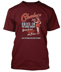 CHARLEY PRIDE inspired BURGER AND FRIES T-Shirt