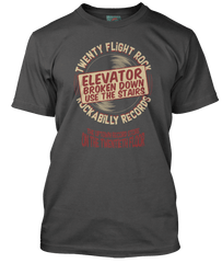 EDDIE COCHRAN inspired TWENTY FLIGHT ROCK T-Shirt