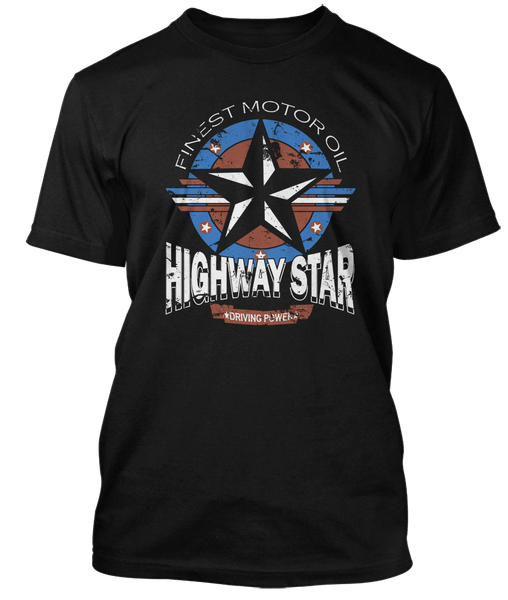 Deep Purple inspired Highway Star Motor Oil