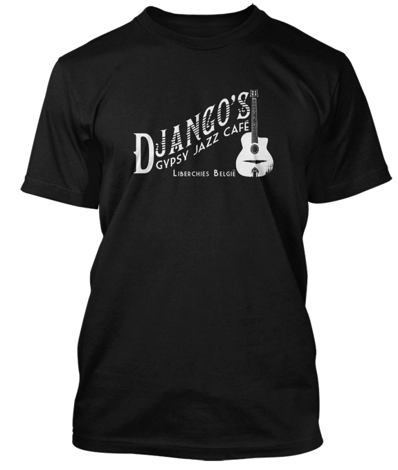 DJANGO REINHARDT inspired GYPSY JAZZ CAFE T-Shirt