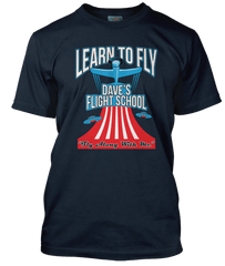 FOO FIGHTERS Dave Grohl Learn To Fly inspired T-Shirt