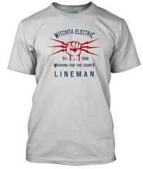 Glen Campbell Wichita Lineman inspired T-Shirt