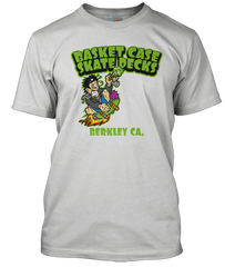 GREEN DAY inspired BASKET CASE Skateboards T-Shirt