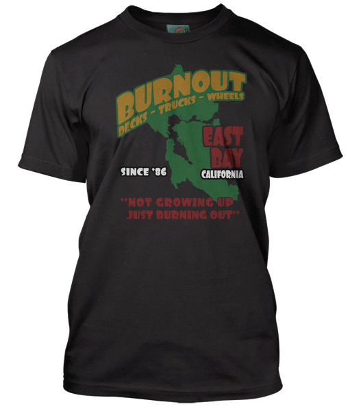 GREEN DAY inspired BURNOUT