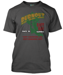 GREEN DAY inspired BURNOUT T-Shirt