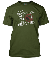 Gil Scott-Heron Revolution Will Not Be Televised inspired T-Shirt
