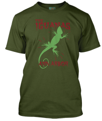 Iggy Pop inspired  - The Iguanas T-Shirt