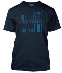 JOHN COLTRANE inspired Blue Trane Jazz Lounge T-Shirt