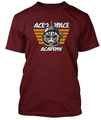 Ace Frehley Kiss Ace's Space Academy inspired T-Shirt