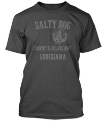 LEAD BELLY inspired SALTY DOG BLUES T-Shirt