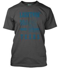 LIGHTNIN HOPKINS inspired MOJO HAND music exchange T-Shirt