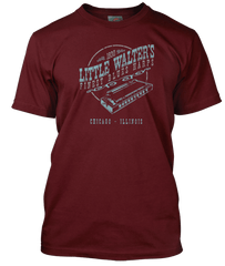 LITTLE WALTER inspired Blues Harp T-Shirt