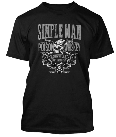 LYNYRD SKYNYRD inspired SIMPLE MAN Poison Whiskey