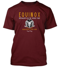 JIMMY PAGE Led Zeppelin inspired EQUINOX OCCULT T-Shirt
