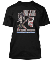 Motley Crue Smokin in the Boys Room inspired T-Shirt