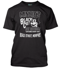 MEMPHIS MINNIE inspired BLACK CAT BLUES T-Shirt