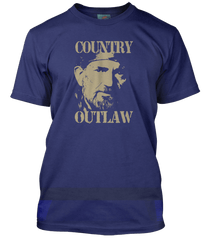 Willie Nelson Outlaw Country inspired T-Shirt