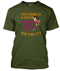 NEW YORK DOLLS inspired VIETNAMESE BABY boutique T-Shirt