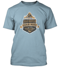 Neil Young inspired Sugar Mountain Heart of Gold T-Shirt