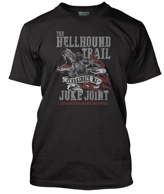 ROBERT JOHNSON inspired HELL HOUND ON MY TRAIL T-Shirt