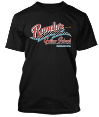 RANDY RHOADS inspired Randys Guitar School T-Shirt