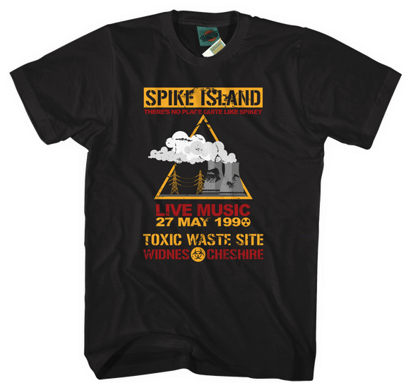 Stone Roses Spike Island inspired T-Shirt