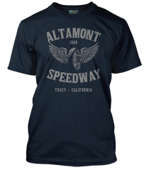 ROLLING STONES inspired ALTAMONT SPEEDWAY T-Shirt