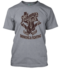 THIN LIZZY inspired JOHNNYS PLACE Boys Are Back In Town T-Shirt