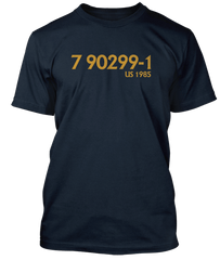 TOM WAITS Rain Dogs catalogue number inspired T-Shirt