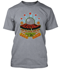 Who inspired Pinball Wizard Silver Ball Amusement Hall T-Shirt