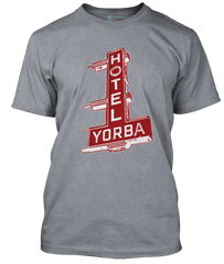 White Stripes inspired Hotel Yorba T-Shirt