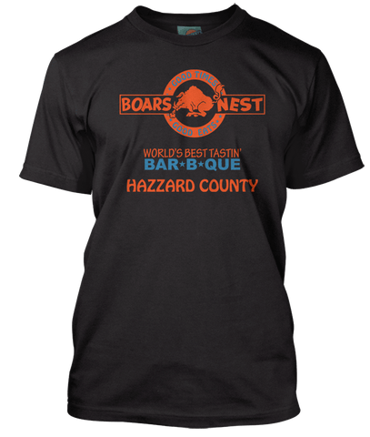 DUKES OF HAZZARD inspired BOARS NEST