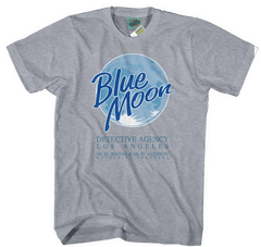 MOONLIGHTING INSPIRED BLUE MOON DETECTIVE AGENCY T-Shirt