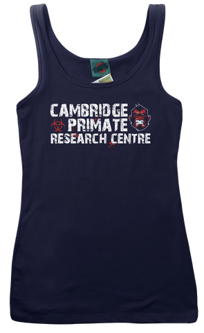 28 DAYS LATER inspired CAMBRIDGE PRIMATE RESEARCH CENTRE